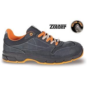 7252NKK Nubuck ankle shoe, waterproof, with waterproof microfibre inserts