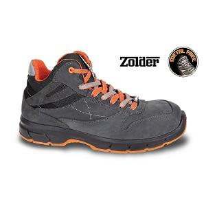 7253NKK Nubuck ankle shoe, waterproof, with waterproof microfibre inserts