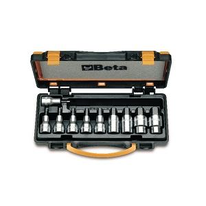 920PE/C10 set of 10 socket drivers for hexagon screws