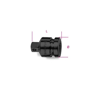 """728/15 Impact adaptor, 3/4"""" female and 1/2"""" male drives"""