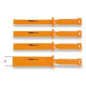 988/K4 Set of 4 scratchproof plastic flat chisels