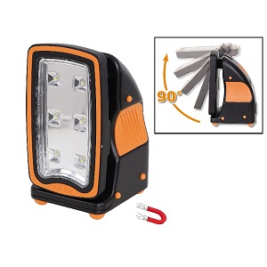 1838FLASH Rechargeable, ultracompact spotlight