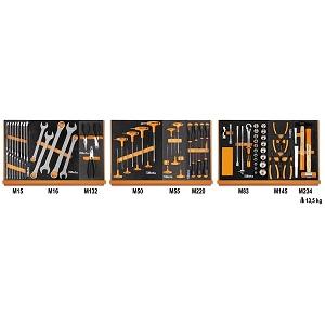 5904VG/1M Assortment of 76 tools - car repair