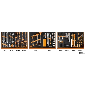 5904VU/1M Assortment of 91 tools - universal maintenance