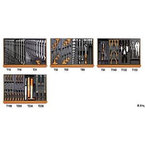 5904VU/3T Assortment of 146 tools - universal maintenance