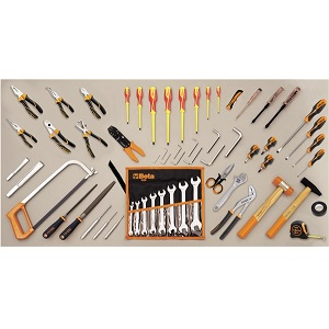 5980ET/A Assortment of 69 tools - electrotechnical maintenance