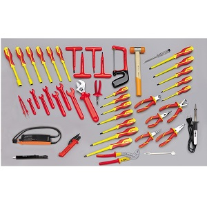 5980/MQ Assortment of 46 tools