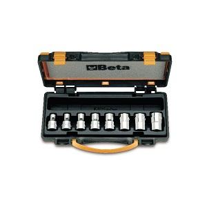 "920FTX/C8 Set of sockets for torx® head screws, 1/2"" female square drive"