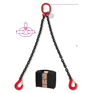 8092 Chains sling, 2 legs in plastic case