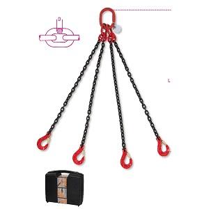 8094 Chain sling, 4 legs in plastic case