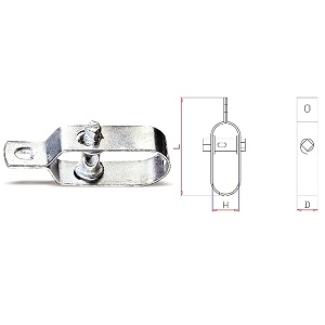 8515Z Wire tenders, galvanized