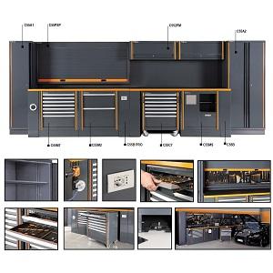 C55 Comprehensive garage furniture combination