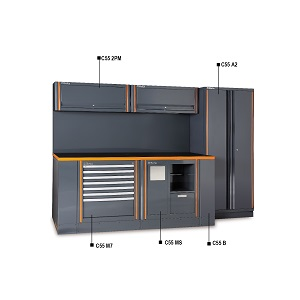 C55AB/2 Garage furniture combination