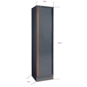 C55A1 Sheet metal single-door tool cabinet, for garage furniture combination