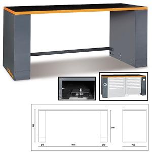 C55B/2 Sheet metal bench, for garage furniture combination