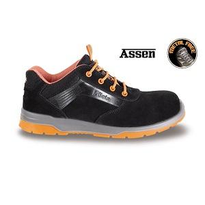 7316N suede shoe, waterproof, with microfibre insert