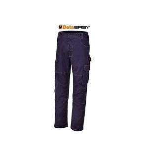 7840BL Work trousers, T/C twill, 245 g/m2, blue