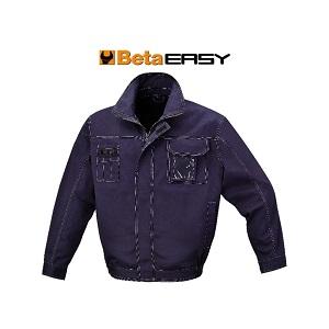7849BL Work jacket, T/C twill, 245 g/m2, blue