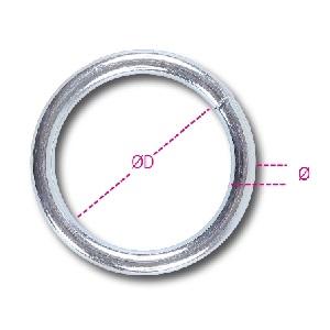 8082 Rings galvanised steel