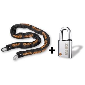 8131Z Antitheft chains with padlocks