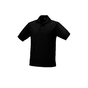 9533N Polyester shirt, breathable, 175g/m2, black