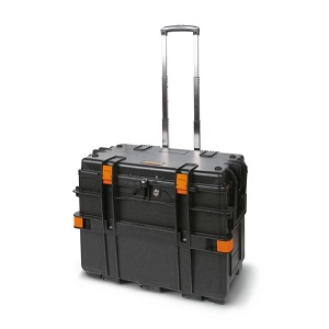 C14 Tool trolley made of polypropylene with 4 drawers, empty
