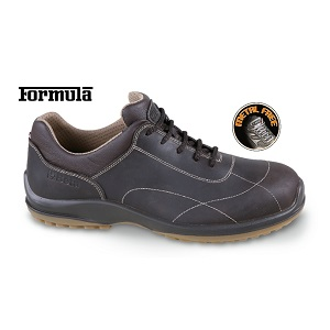"""7300FT Full-grain leather shoe, """"free time"""" style, waterproof, without toe cap and penetration-proof insole"""