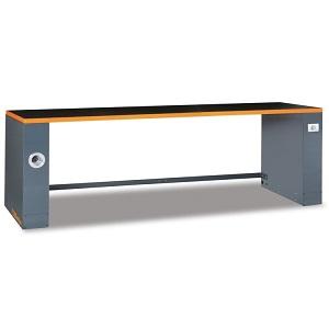 C55PRO B/2,8 2.8-m-long workbench, for workshop equipment combination