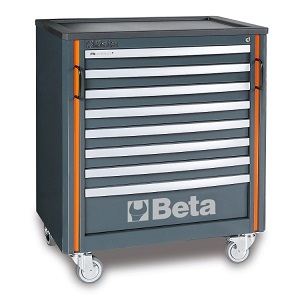 C55C8 Roller cab module with eight drawers, for workshop equipment combination