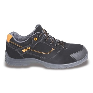 7214FN Action nubuck shoe, waterproof, with anti-abrasion insert in toe cap area