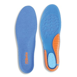 7398U Anatomically shaped underfoot covers made of TPR GEL with high cushioning effect, plantar arch support and heel pad