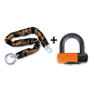 8131DL Disc lock with anti-theft chain 8130A
