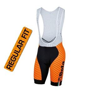9542C Lycra bib shorts, silicone elastic at leg end, antibacterial seat padding
