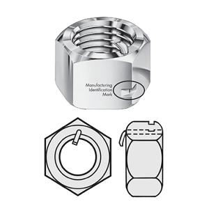 ANCO PN-LOC Nut, UNC, ASTM A194 2H, Hot Dip Galvanised - Grampian