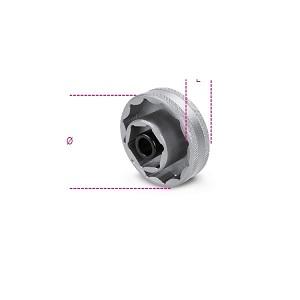 3075B Bi-hex socket for wheel hub nuts
