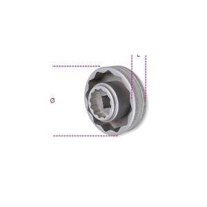 3075MV Bi-hex socket for MV AGUSTA wheel hub nuts