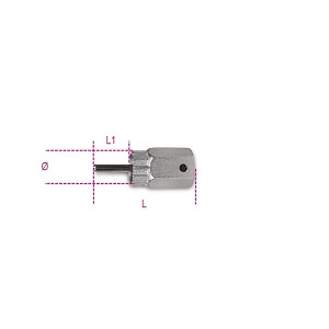 3984/3 Shimano freewheel removal wrench, cassette with pin guide, nickel-plated