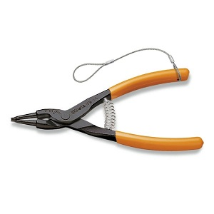 1036HS External Circlip Pliers, Straight Pattern PVC-Coated Handles H-SAFE