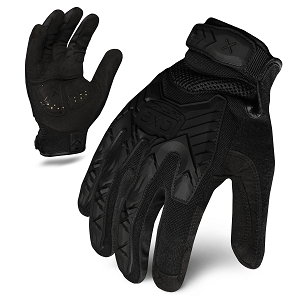 EXO Tactical Impact Black Gloves