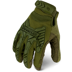 EXO Tactical Impact OD Green Gloves