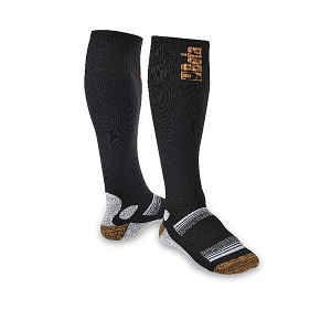 7421 Knee-length socks made from elastic compression terry