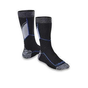 7425 Ankle-length socks with breathable texture inserts