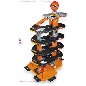 """9548G """"Kinder Garage"""", 6-storey, with car wash, lift and ramps"""