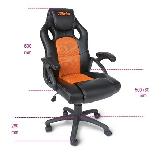 9563G Office armchairs, for guests