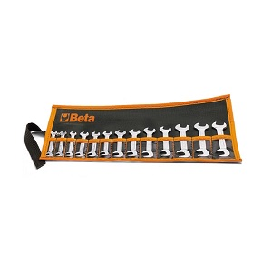 73/B13 Sets of small double open end wrenches, in wallets