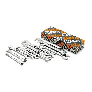 73/S13 Sets of small double open end wrenches, in boxes