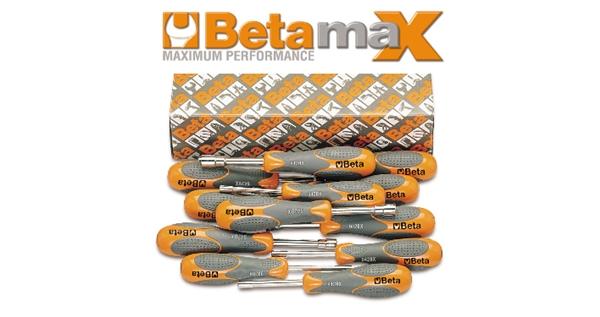 942BX/S12 Betamax hexagon nut spinners, short series