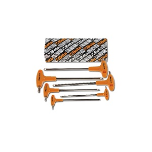 96TBP/S6 Sets of ball end hex wrenches with T handles