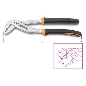 1048BM Slip joint pliers, boxed joint, bimaterial handles