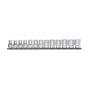 """910A-AS/SB13 Sets of 3/8"""" imperial sockets, hexagon ends"""